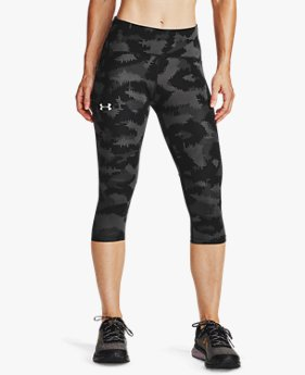 Women's UA Fly Fast Printed Capri